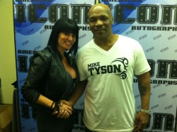 Traci Brooks with Mike Tyson