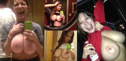 topless selfies & candid shot with Tessa Fowler