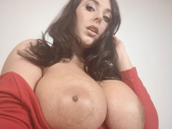 topless Angela White