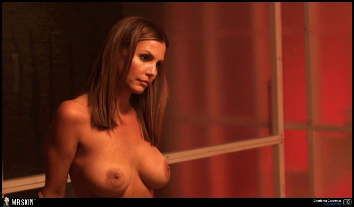 Topless Charisma Carpenter